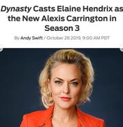 Elaine Casting Announcement2