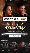 Dynasty is No. 10 on Netflix in Spain
