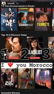 Dynasty is No. 1 on Netflix in Morocco