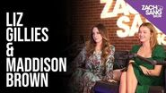 Liz Gillies and Maddison Brown Roast Each Other While Chatting About Dynasty