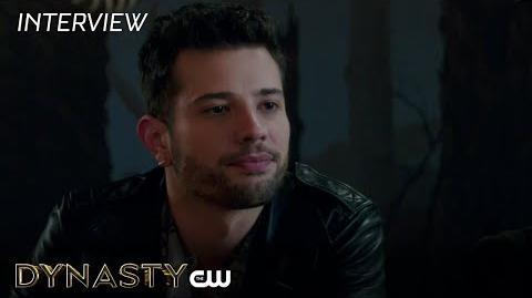 """Dynasty Rafael de La Fuente """"Samuel"""" Interview The CW"""