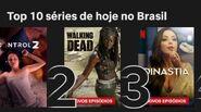 Dynasty is No. 3 on Netflix in Brazil
