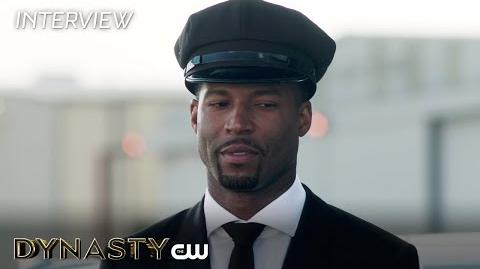 """Dynasty Robert Christopher Riley """"Michael Culhane"""" Interview The CW"""