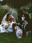 Liz Gillies-Wedding2