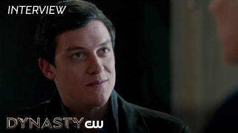 "Dynasty James MacKay ""Stephen Carrington"" Interview The CW"