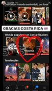 Dynasty is No. 6 on Netflix in Costa Rica