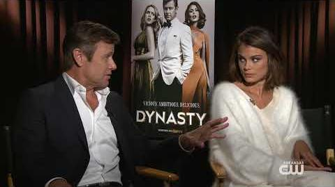 """Interview with Grant Show and Nathalie Kelley of """"Dynasty"""""""