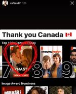 Dynasty is No. 7 on Netflix in Canada