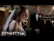 Dynasty - Season 4 Episode 2 - Fallon Sings At Wedding Scene - The CW