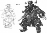Dong Zhuo Concept Art (DW4)