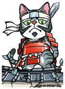 Okabe Motonobu in Samurai Cats (2)