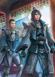 Zhuge Dan & Sima Shi Artwork (DW9M)