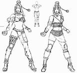 Zhu Rong Concept Art (DW4)