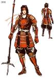 Yukimura Sanada Concept Art (SW2)