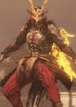 Yoshitsune Minamoto Yokai form (Nioh 2)