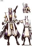 Kenshin Uesugi Concept Art (SW2)