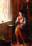 Da Qiao Dynasty Warriors 5 Artwork