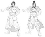 Sun Quan Concept Art (DW9)