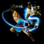Link - Wielding the Guardian Flail (HWAC)