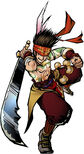 Dynasty Warriors DS - Gan Ning