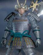 Okabe Motonobu in Nioh 2