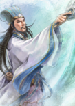 Zhuge Liang Watercolor Artwork (ROTK13PUK DLC)