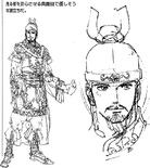 Liu Bei Concept Art (DW3)