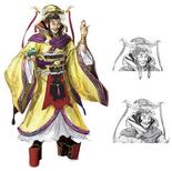 Yuan Shu Concept Art (DW9)