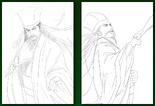 Zhuge Liang Concept Art (ROTK14)