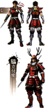 Yukimura Sanada Concept Art 3 (SWSS)