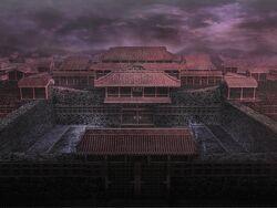 Koshi Castle in Warriors Orochi