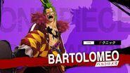 「ONE PIECE 海賊無双4」キャラクター紹介映像~バルトロメオ~ PS4 Nintendo Switch XboxOne