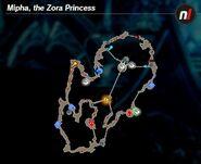 Zora's Domain Korok Seed Map (HWAC)
