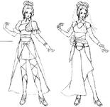Diao Chan Concept Art (DW4)