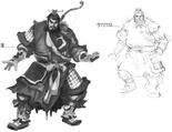 Xiahou Yuan Concept Art (DW4)