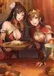 Lianshi & Sun Shangxiang Artwork (DW9M)