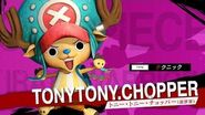 「ONE PIECE 海賊無双4」キャラクター紹介映像~チョッパー(新世界)~ PS4 Nintendo Switch XboxOne