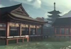 Itsukushima in Samurai Warriors 4