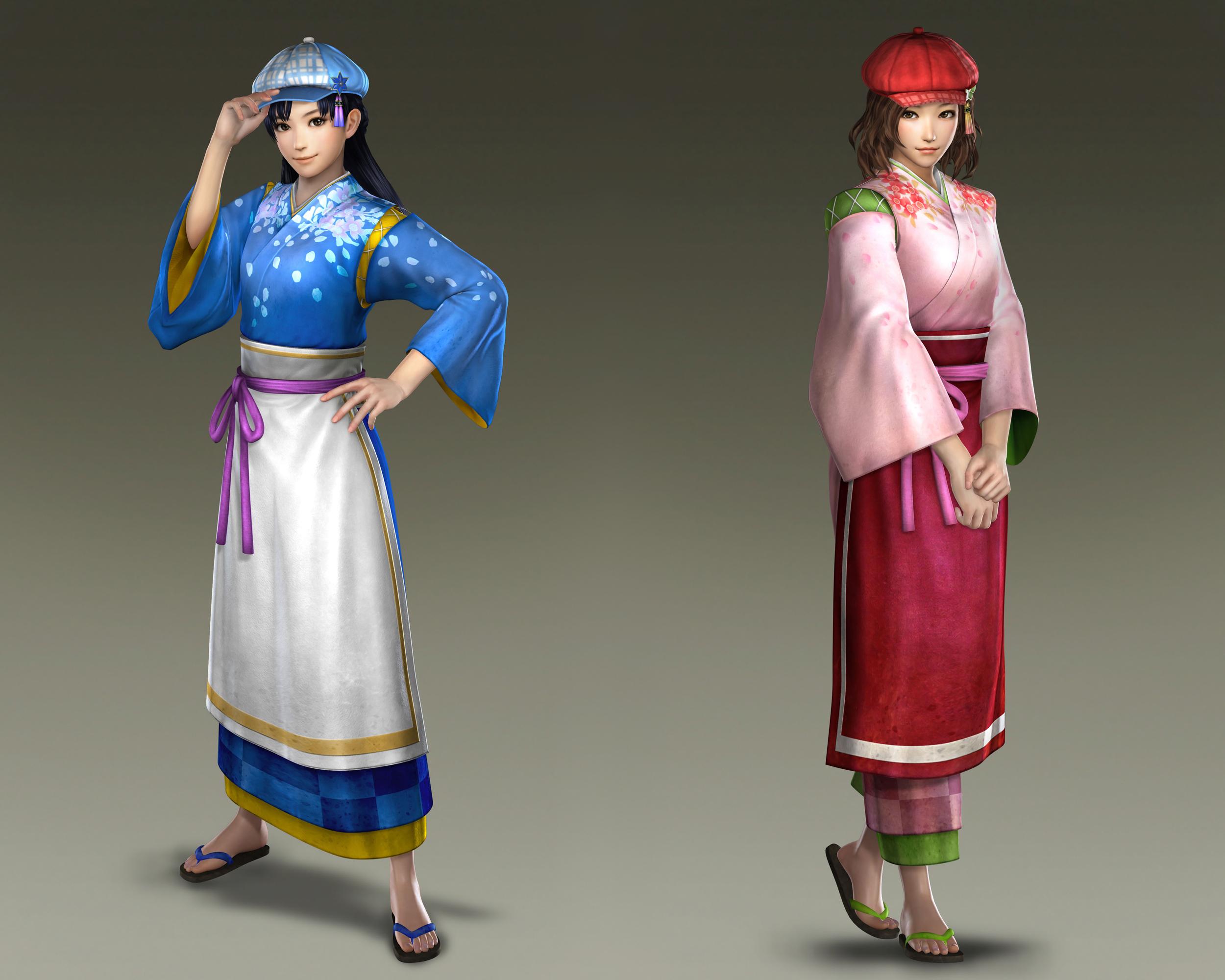 Mio and Miyu