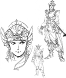 Lu Xun Concept Art (DW3)