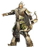 Huang Zhong - Dynasty Warriors Strikeforce