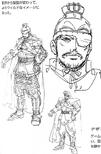 Xiahou Dun Concept Art (DW3)