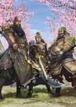 Guan Yu & Liu Bei & Zhang Fei Artwork (DW9M)