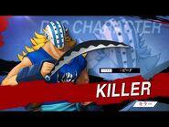 「ONE PIECE 海賊無双4」DLCキャラクター紹介映像~キラー~ PS4-Nintendo Switch-XboxOne