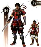 Yukimura Sanada Concept Art 2 (SWSS)