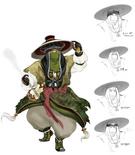 Pang Tong Concept Art (DW9)