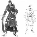 Xiahou Dun Concept Art (DW4)