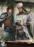 Jiang Wei & Zhuge Liang Artwork (DW9M)