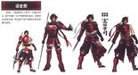 Yukimura Sanada Concept Art (SW3)