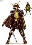Masamune Date Concept Art (SW2)